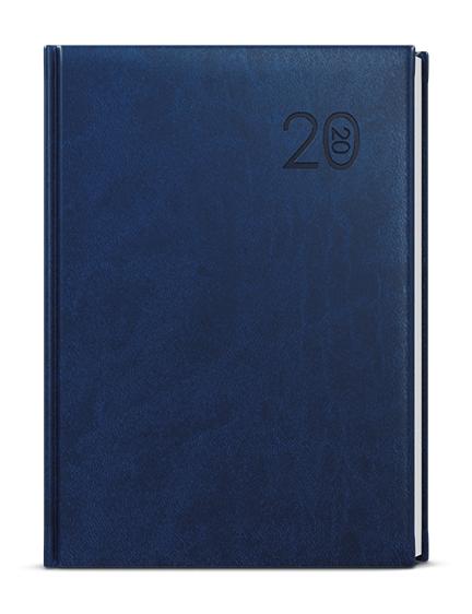 Denní diář - Ctirad - vivella - A5 - modrá
