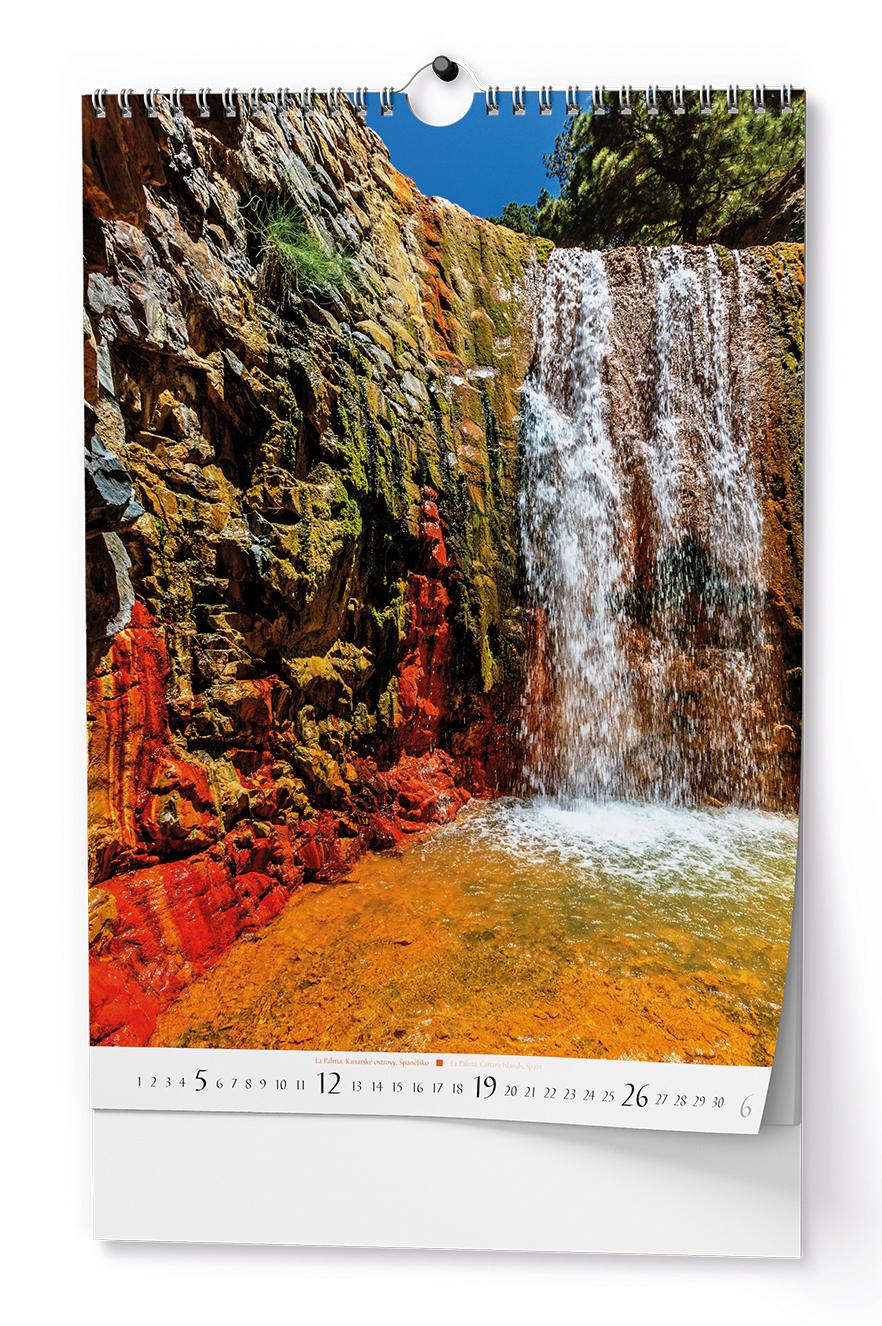 Nástěnný kalendář A3 - Řeka čaruje