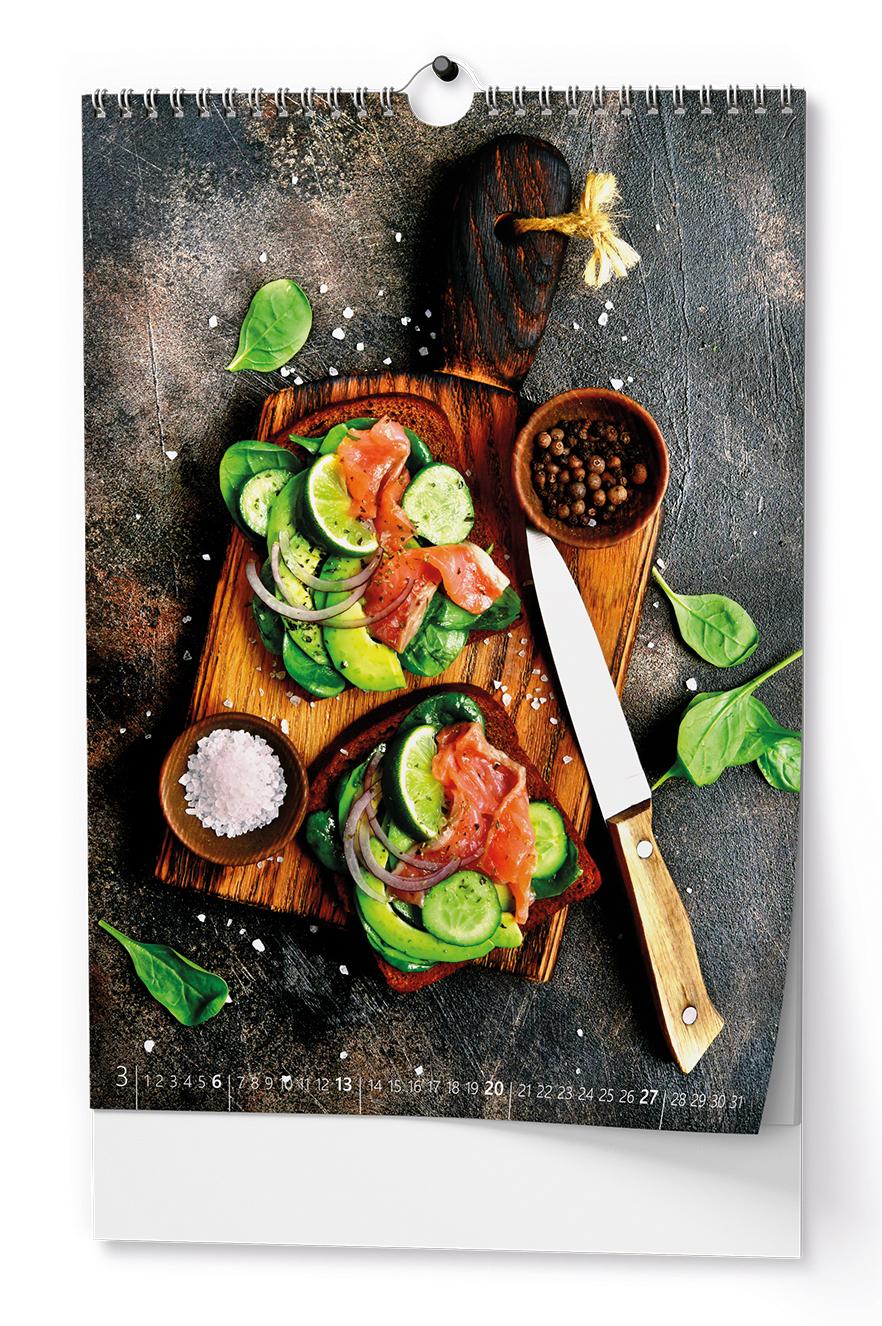 Nástěnný kalendář A3 - Gourmet