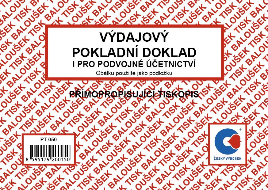 Výdajový pok.dok. i pro podvoj.úč. A6