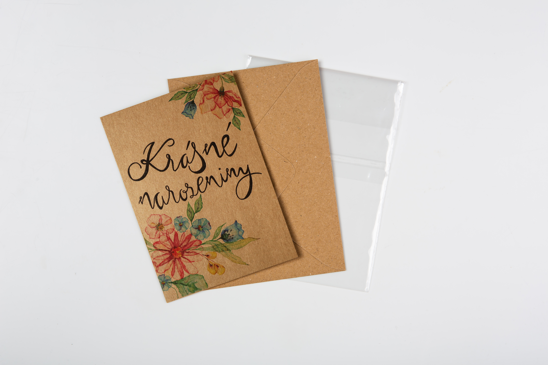 Přáníčko BeBechy - recyklovaný papír - Krásné