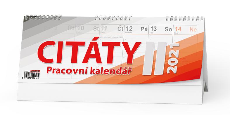 Stolní kalendář - Citáty  II., BALOUŠEK, BSB2