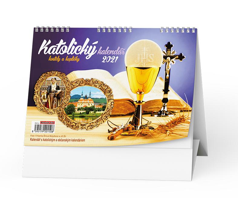 Stolní kalendář - Katolický, BALOUŠEK, BSC4