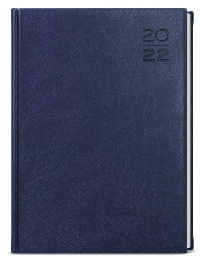 Týdenní diář - Tomáš - vivella - A4 - modrá
