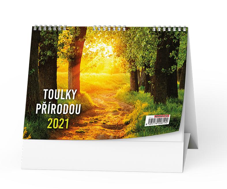 Stolní kalendář - Toulky přírodou, BALOUŠEK, BSH7