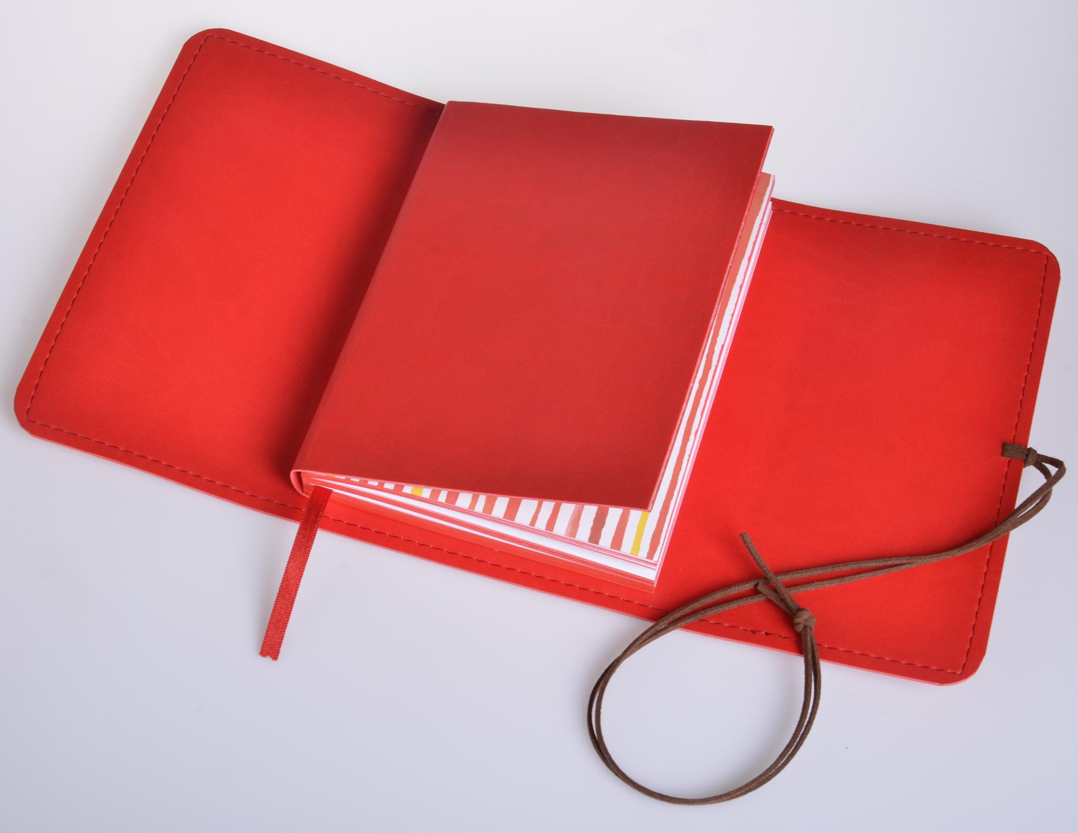 Motivační diář MOTY - B6 - vivella - Červený
