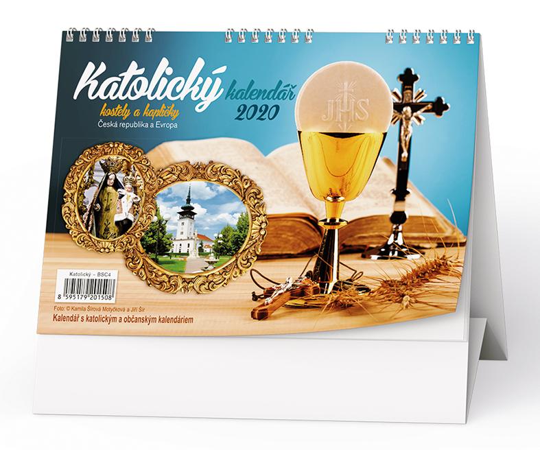 Stolní kalendář - Katolický