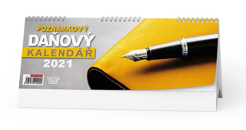 Stolní kalendář - Poznámkový daňový kalendář, BALOUŠEK, BSC10