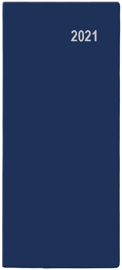 Měsíční diář - Božka - PVC - modrá, BALOUŠEK, BMB1-1