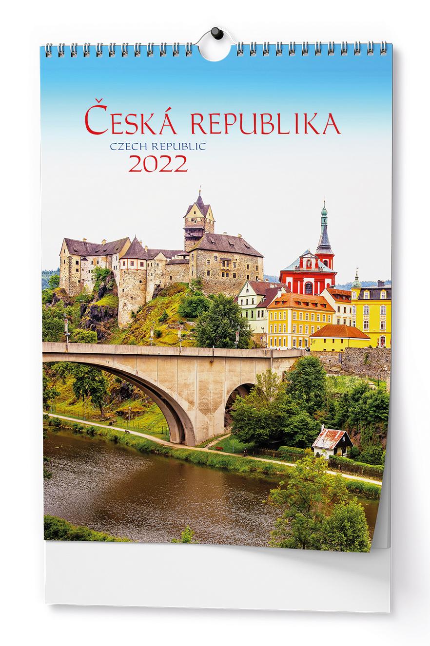 Nástěnný kalendář A3 - Česká republika