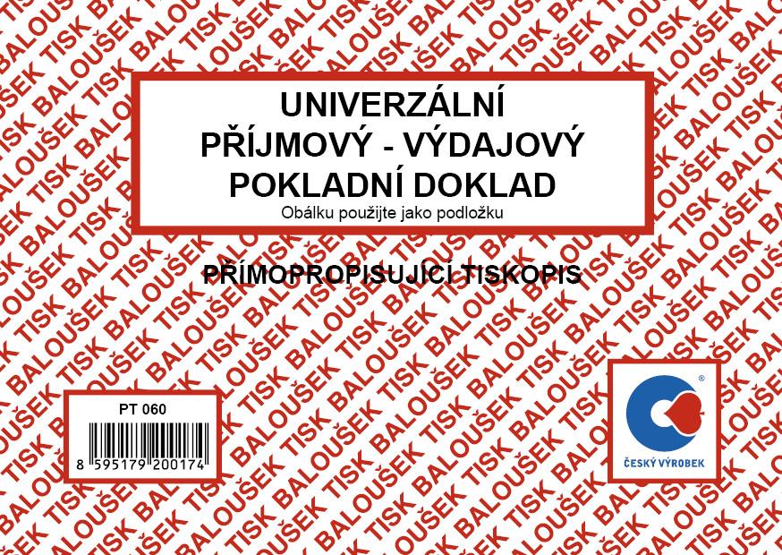 Univerzální příjm.-výdaj. pokl.dokl. A6