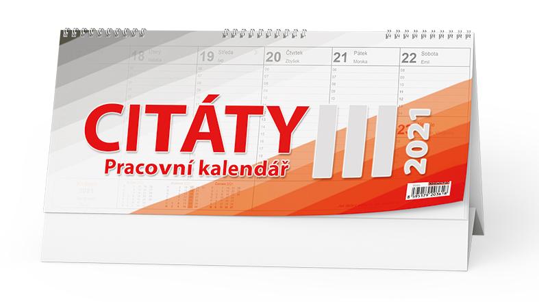 Stolní kalendář - Citáty  III., BALOUŠEK, BSB3