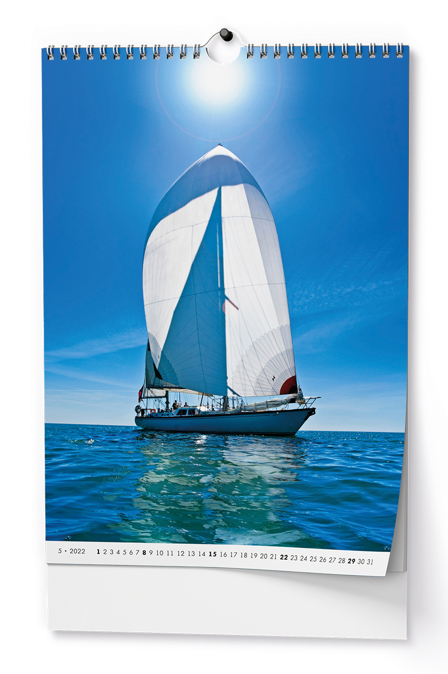 Nástěnný kalendář A3 - Jachting