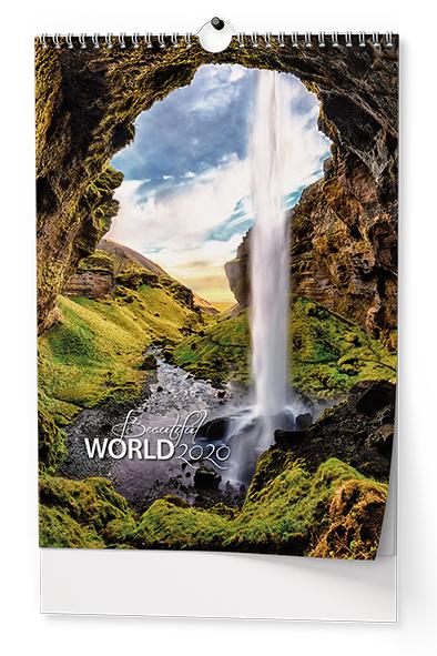 Nástěnný kalendář A3 - Beautiful world