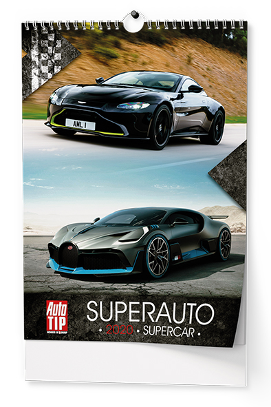 Nástěnný kalendář A3 - Superauto