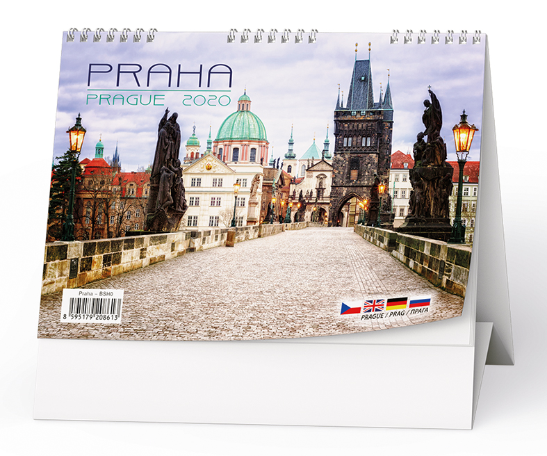 Stolní kalendář - Praha