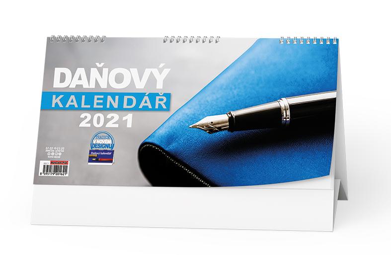 Stolní kalendář - Daňový kalendář, BALOUŠEK, BSC1