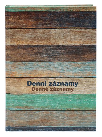 Denní záznamy - A5 - Dřevo