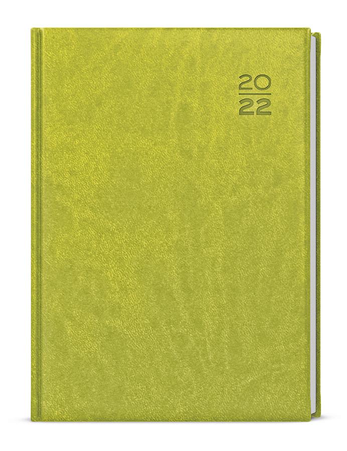 Denní diář - Adam - vivella - B6 - zelená