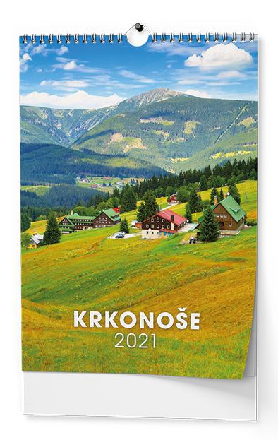 Nástěnný kalendář A3 - Krkonoše, BALOUŠEK, BNK5