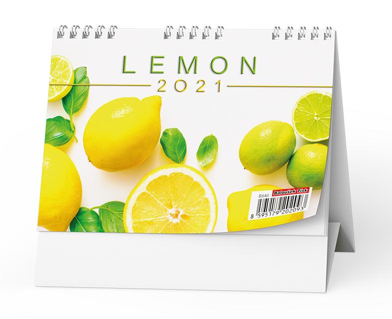 Stolní kalendář - Lemon - mini, BALOUŠEK, BSA0