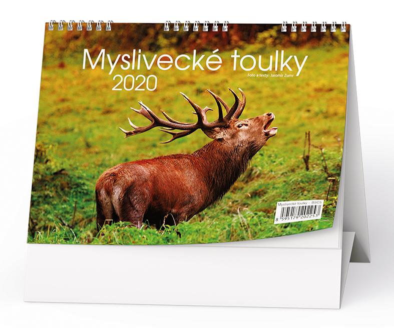 Stolní kalendář - Myslivecké toulky
