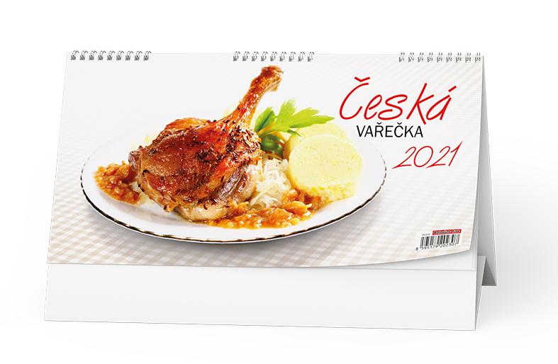 Stolní kalendář - Česká vařečka, BALOUŠEK, BSD6
