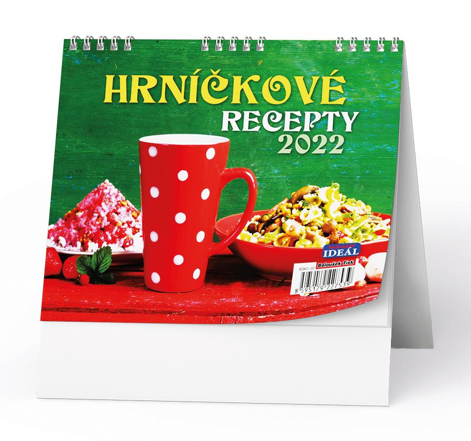 Stolní kalendář - IDEÁL - Hrníčkové recepty