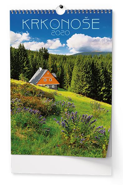 Nástěnný kalendář A3 - Krkonoše
