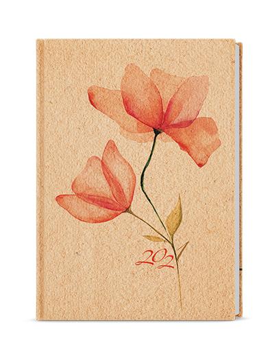 Denní diář - Adam - lamino - B6 - Květina, BALOUŠEK, BDA9-3