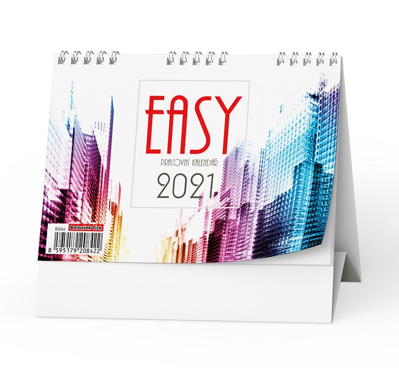 Stolní kalendář - Easy, BALOUŠEK, BSA5