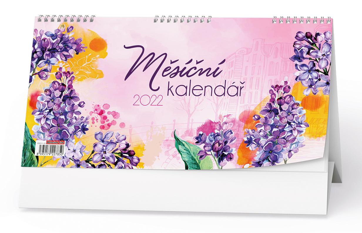 Stolní kalendář - Měsíční kalendář (měsíční kalendárium)