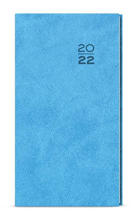 Týdenní diář - Jakub -  vivella - kapesní - světle modrá