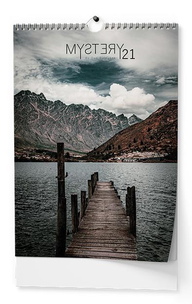 Nástěnný kalendář A3 - Mystery, BALOUŠEK, BNG13