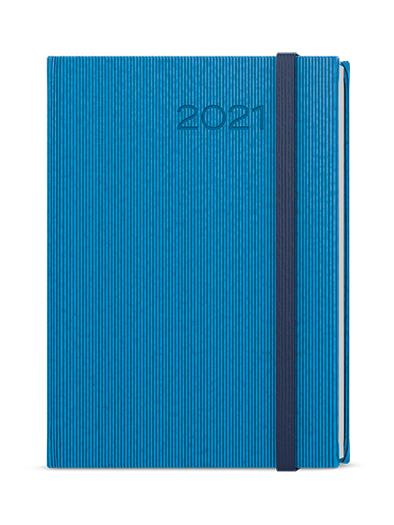 Týdenní diář - Oskar - vigo - A5 - modrá, BALOUŠEK, BTO23-1