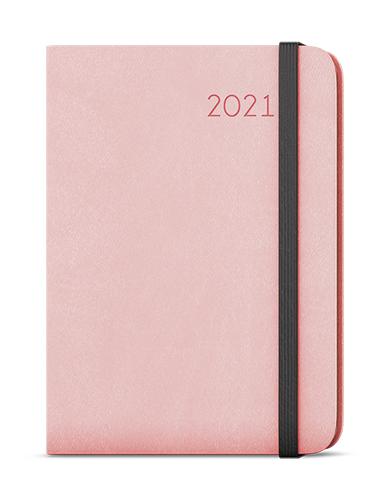 Týdenní diář - Zoro - flexi - A5 - pudrová růžová, BALOUŠEK, BTZ3-20
