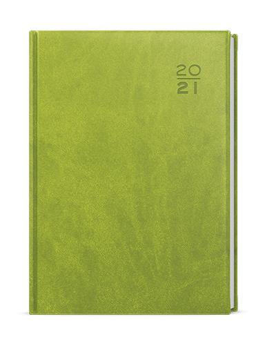 Denní diář - Adam - vivella - B6 - zelená, BALOUŠEK, BDA6-5