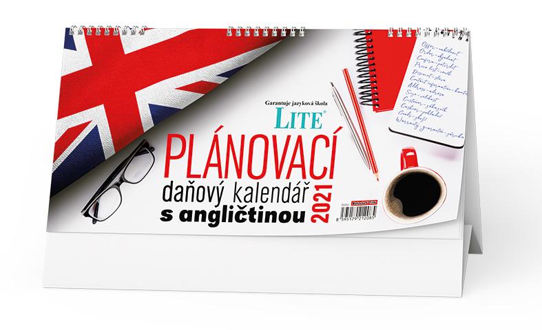 Stolní kalendář - Plánovací daňový kalendář s angličinou, BALOUŠEK, BSN5