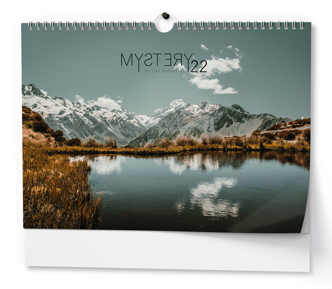 Nástěnný kalendář A3 - Mystery
