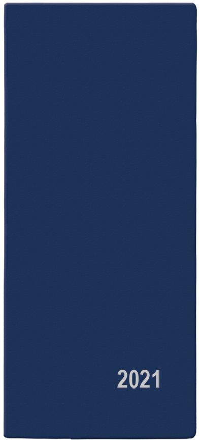 Měsíční diář - Xenie - PVC - modrá, BALOUŠEK, BMX1-1