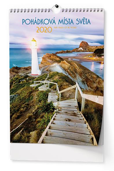 Nástěnný kalendář A3 - Pohádková místa
