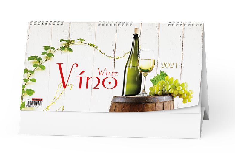 Stolní kalendář - Víno, BALOUŠEK, BSE1