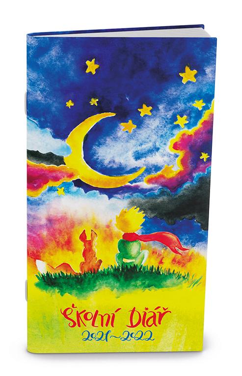 Měsíční školní diář - Klára - lamino - Noc