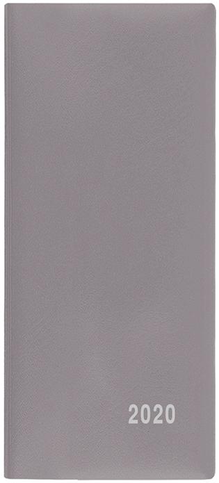 Měsíční diář - Xenie - PVC -  šedá