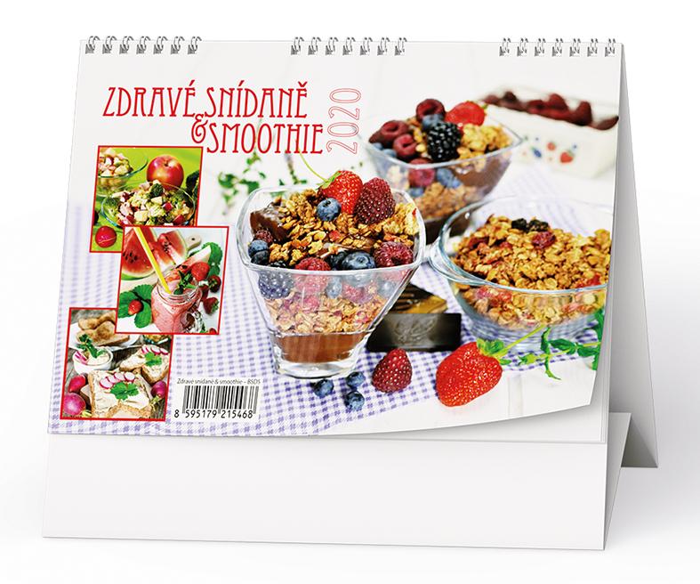Stolní kalendář - Zdravé snídaně & smoothie