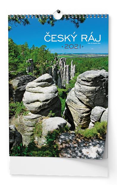 Nástěnný kalendář A3 -Český ráj, BALOUŠEK, BNK3