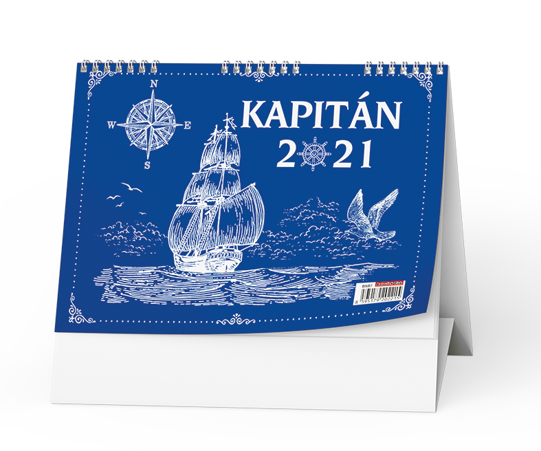 Stolní kalendář - Kapitán, BALOUŠEK, BSB7