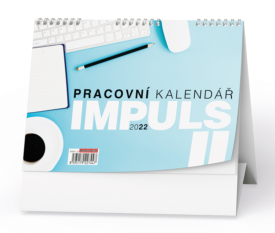 Stolní kalendář - Pracovní kalendář IMPULS II