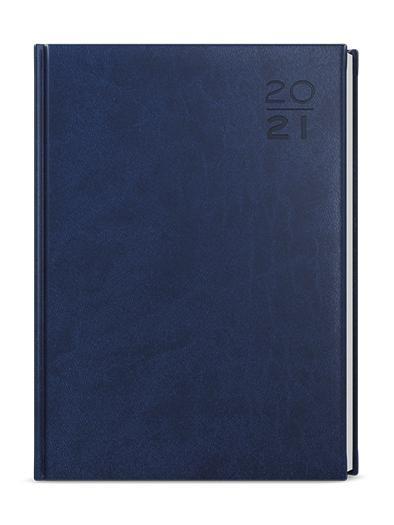 Týdenní diář - Tomáš - vivella - A4 - modrá, BALOUŠEK, BTT6-1