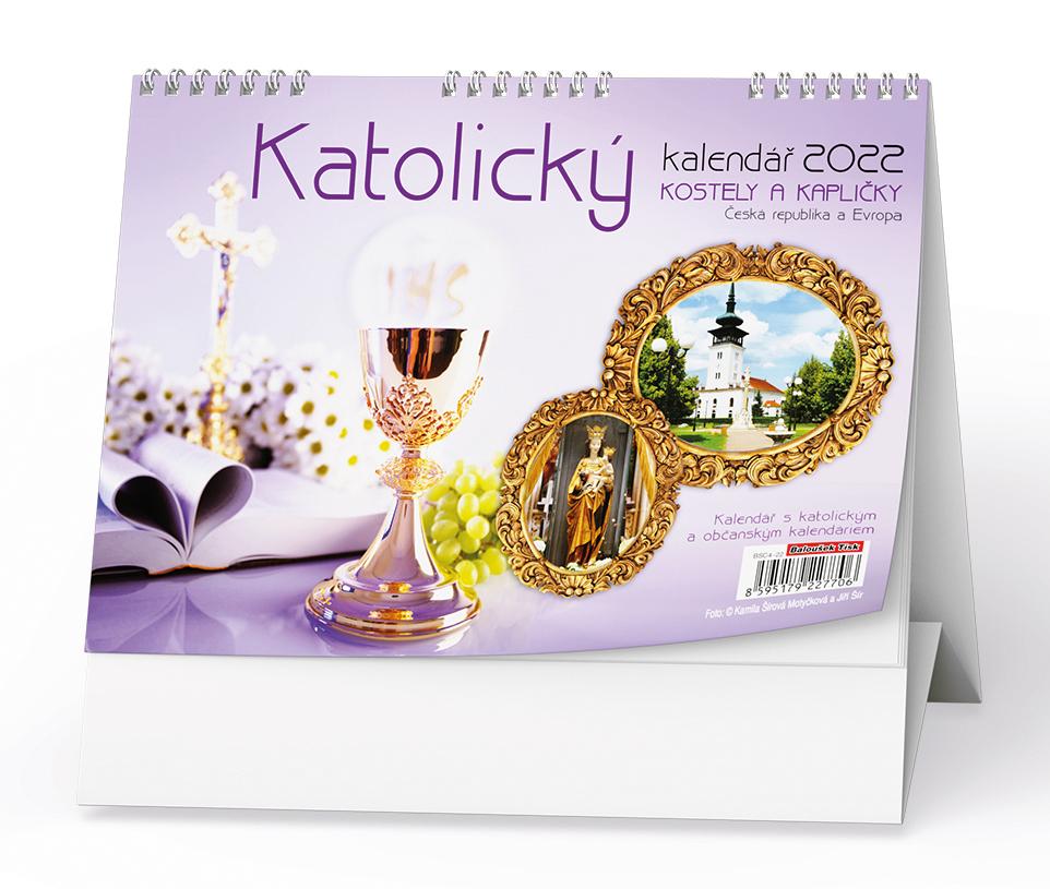 Stolní kalendář - Katolický  (kostely a kapličky)